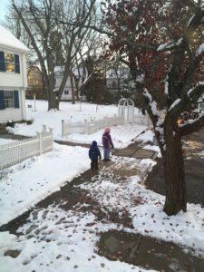 last Boston snow