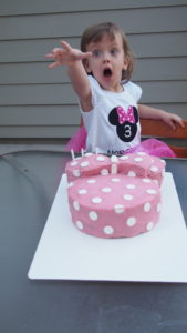 Three year old party